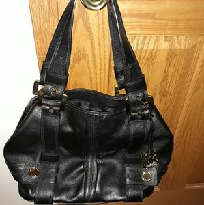 MK Leather satchel handbag